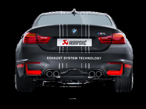 Akrapovic 14-17 BMW M4 (F82 F83) Rear Carbon Fiber Diffuser - Matte