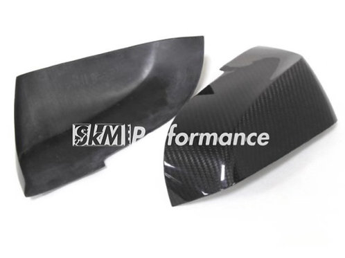 BMW F2x F3x OEM Style Carbon Mirror Add On // double side carbon fiber