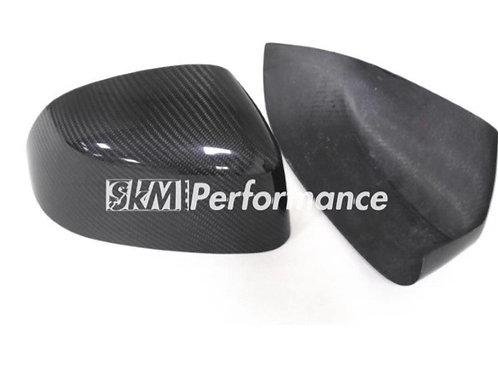 2014-on BMW X3 X4 X5 X6 Add on Caron Fiber Mirror  // double side carbon fiber