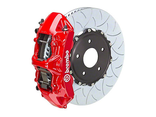 Brembo GT Series 6-Piston Front Big Brake Kit with 15-Inch Type 3 Slotted Rotors