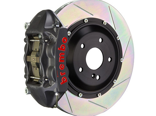 Brembo GT 345x28 2-Piece 4 Piston Black Slotted Front Big Brake Kit