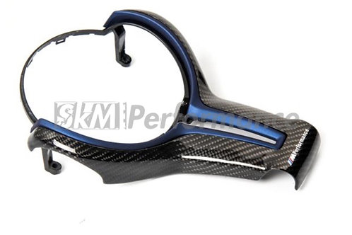 BMW M Sport M2 M3 M4 M5 M6 X5M X6M Carbon Steering Trim Blue