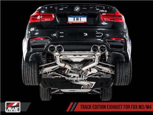 AWE BMW F8X M3/M4 Cat-Back Track