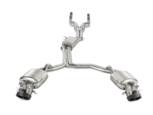 AKR Evo Cat Back - Titanium