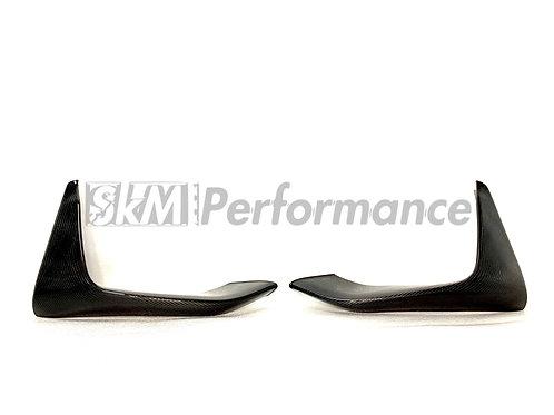BMW F8X F80 F82 F83 M3 M4 M performance Style carbon fiber bumper splitter Flap