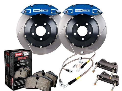 StopTech Big Brake Kit 2 Piece Rotor; Front Front