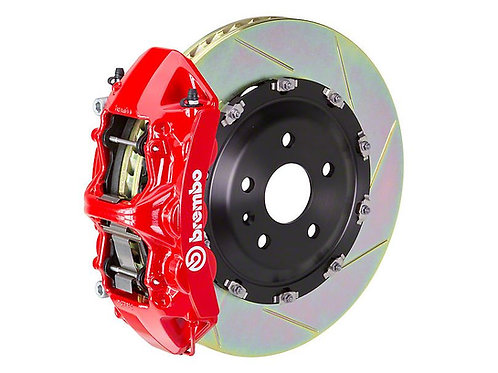 Brembo GT Series 6-Piston Front Big Brake Kit with 15-Inch Type 1 Slotted Rotors