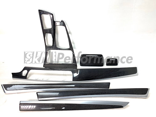 Carbon Fiber Interior Trim Overlay Kit BMW F10 5-Series