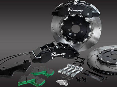 Ksport SuperComp 8 Piston 421mm Inch Front Big Brake Kit Mini Cooper S 07-13