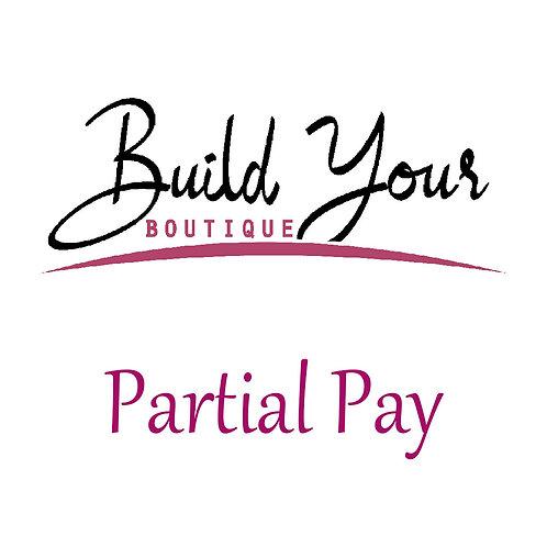 Website Design (Shopify) Partial Payment