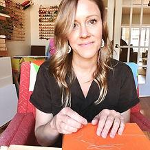 Cassia Kite in Sarasota FL studio.jpg