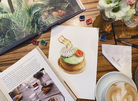 珠寶盒⎜法式甜點繪畫日誌