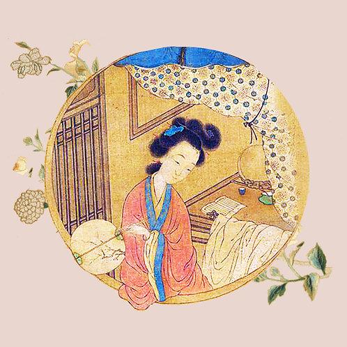 皇家絲綢團扇~喚醒千年的新時尚