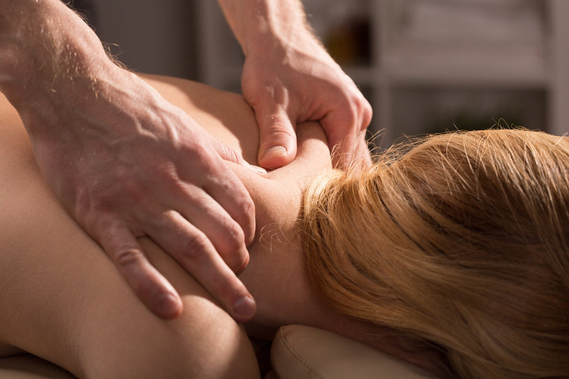 Package of 3 Deep Tissue Sessions with Optional Cupping
