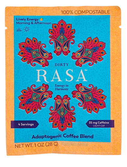 "Rasa ""DIRTY"" Adaptogenic Coffee Blend  1 oz"