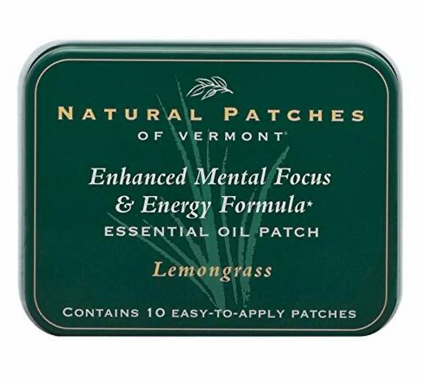 """""""Lemongrass"""" Enhanced Mental Focus & Energy Formula"""