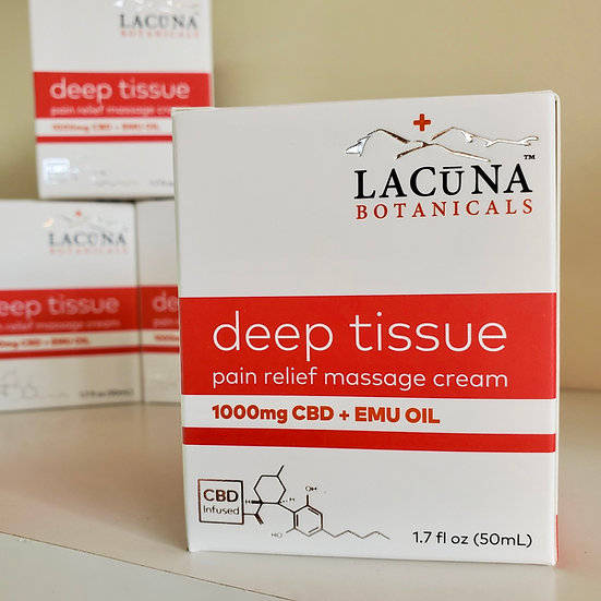 CBD Deep Tissue Elite Massage Cream