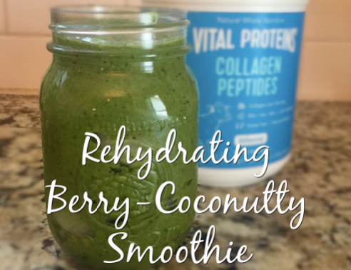Rehydrating Berry-Coconutty Smoothie