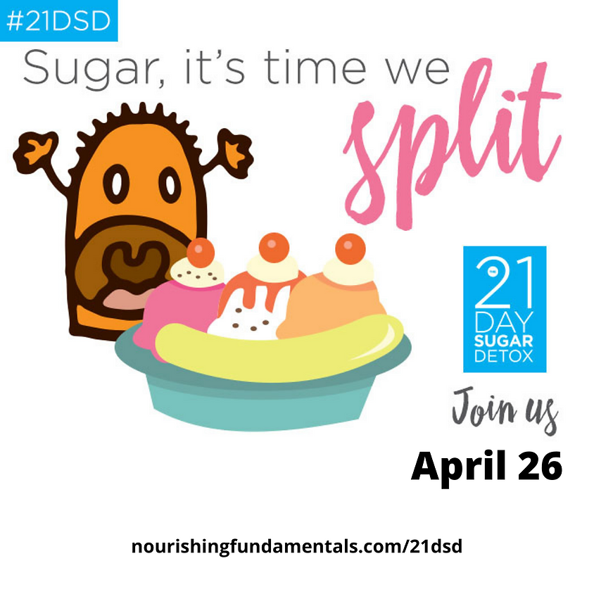 Sugar, it's time we split