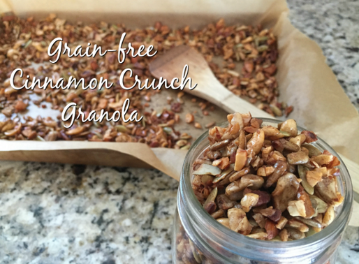 Grain-Free Cinnamon Crunch Granola