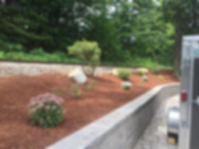 Plant installations lake house laconia NH Total Grounds