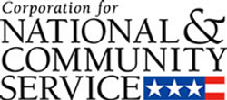We are the Corporation for National and Community Service, a federal agency that helps more than 5 million Americans improve the lives of their fellow citizens through service.