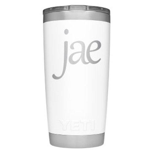 Jae Signature YETI Rambler 20oz Tumbler