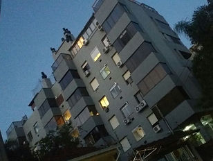 Esquadrias de Alumínio no prédio residencial Rua Casemiro de Abreu em Porto Alegre