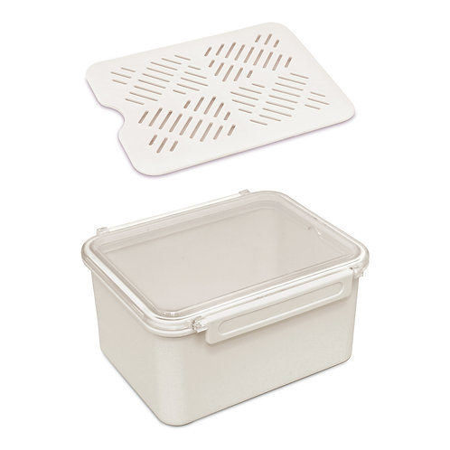 640/1A 食物盒 (附隔層)	TIGHT-SEAL LUNCH BOX WITH DRAIN SHELF