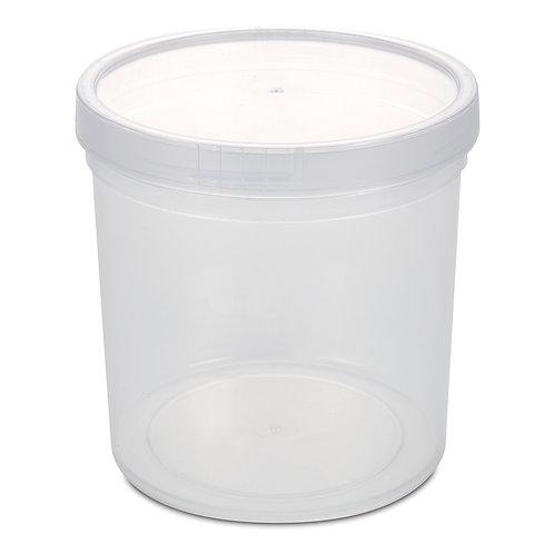 698 圓形食物盒 (大)ROUND FOOD CONTAINER (L)