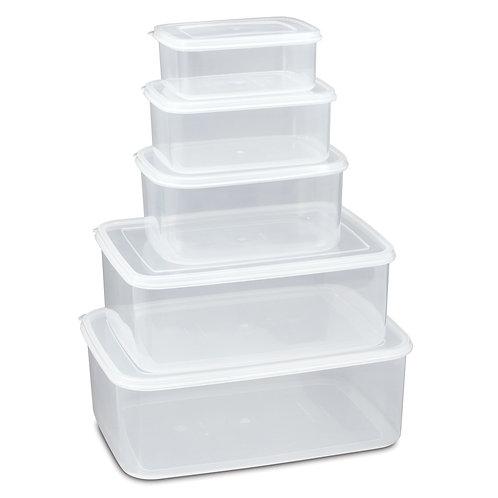 630C 套裝長方形密封式食物盒AIR-SEALED FOOD CONTAINER SET
