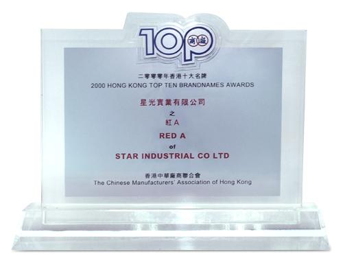 2000年香港十大名牌