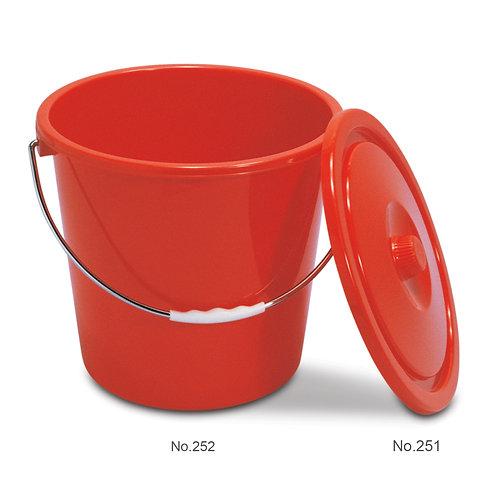 252 鐵挽水桶PAIL WITH IRON HANDLE (20 L 升)