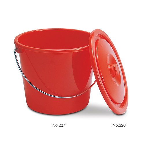 227 鐵挽水桶PAIL WITH IRON HANDLE (12 L 升)