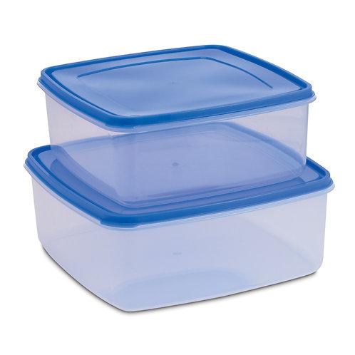 616B 軟膠套裝方形密封式食物盒AIR-SEALED FOOD CONTAINER SET