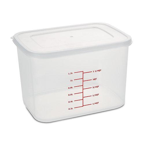 長方形食物盒 (連刻度)AIR-SEALED FOOD CONTAINER WITH MARKINGS (M)