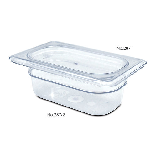 287/2 FOOD PAN (1/9, 2 inch Height)	食物盆 (1/9, 2寸高)