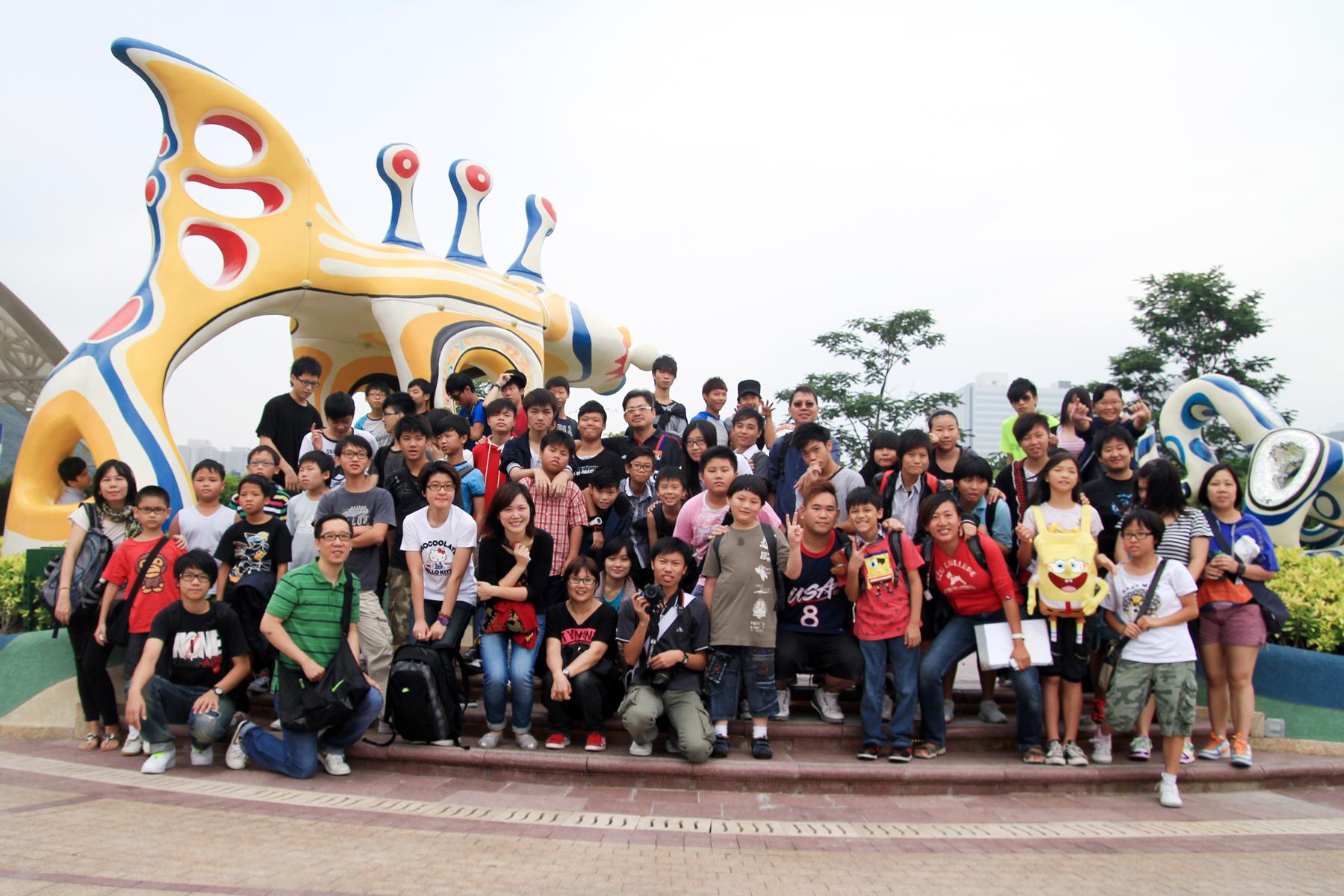 2011 Sep - 海洋公园游玩