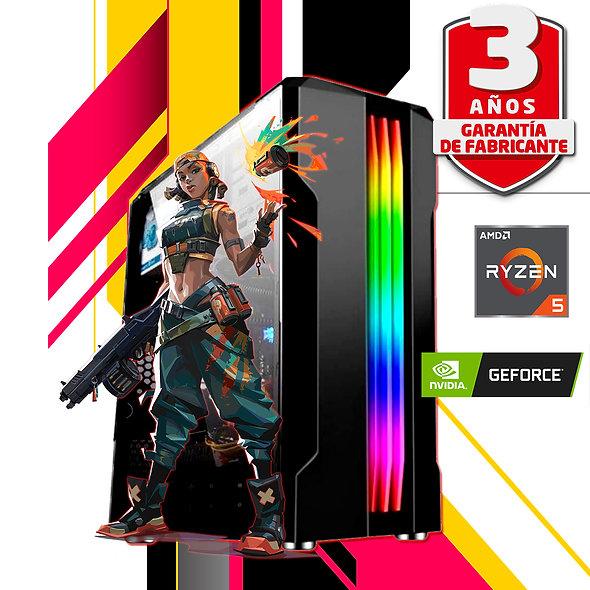 PC RYZEN 5 GTX 1660 16GB SSD F80PLUS