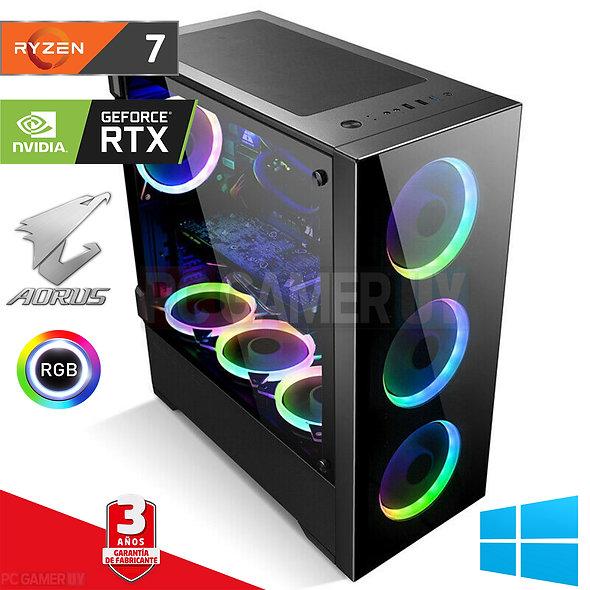 PCGAMER Ryzen 7 3800x RTX 2080TI SSD + 1TB...