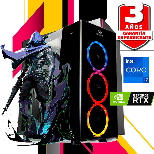 PC I7 10MA RTX 3060TI 16GB 1TB F80PLUS