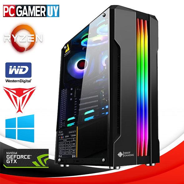PCGAMER RYZEN 5 16GB GTX 1660 SSD F80PLUS