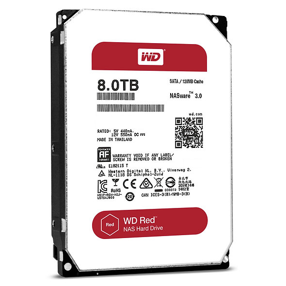 "Hdd 3.5"" Wd Red 8tb Sata3 Intellipower"