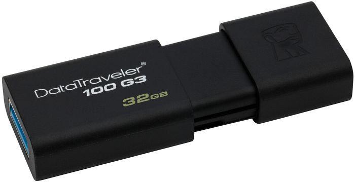 Kingston DataTraveler 100 G3 - Unidad flash USB - 32 GB