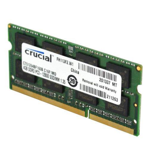 Sodimm Crucial Ddr3 8gb 1600 CL11 1.35v