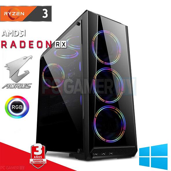 PCGAMER Ryzen 3 Radeon RX