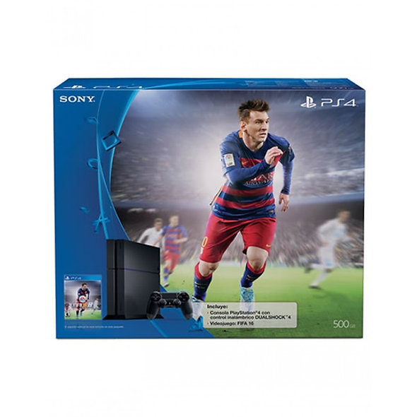 Consola Playstation 4 500GB FIFA 16
