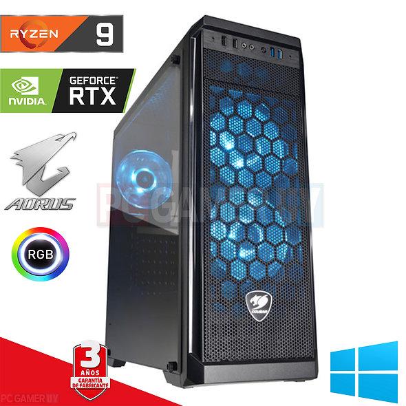PCGAMER RYZEN 9 3900X RTX 2070 NVME 1TB+1TB...