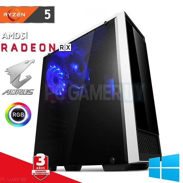 PCGAMER Ryzen 5 Radeon RX...