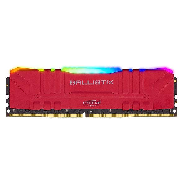 Crucial Ballistix Rgb Ddr4 16gb 3200 Red